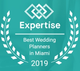 Expertise Emblem Best Wedding Planners in Miami 2019